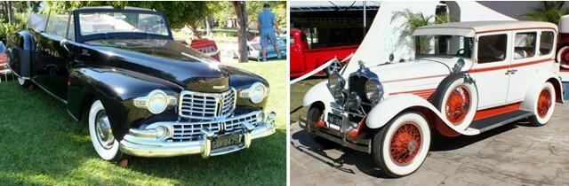 Lincoln Continental 1946 e Stutz Sedan 1928