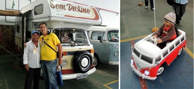 """A Kombi Karmann Ghia Safari """"Sem destino"""" e a Mini Kombi"""