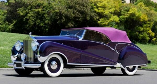 Este exótico Rolls Royce pode atingir a espantosa soma de US$ 2 milhões no leilão