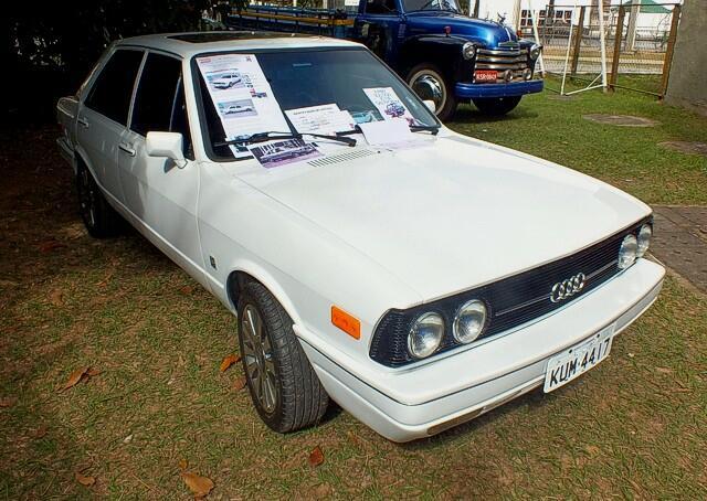 Audi Fox 1978 movido a diesel