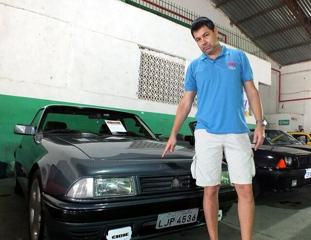 André Luiz: o novo presidente do SM Clube possui um 1992 com faróis retangulares