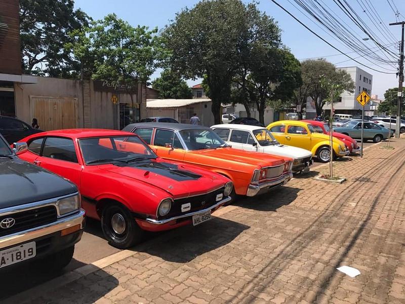 1° Encontro de Automóveis Antigos Clássicos da Soja em Cascavel