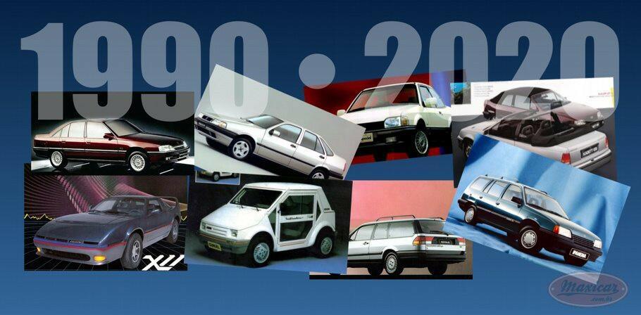 carros nacionais anos 1990