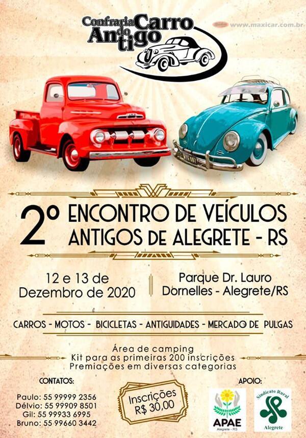 2º Encontro de Veículos Antigos de Alegrete, RS