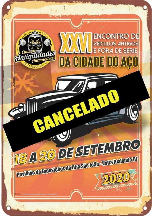 XXVI Encontro de Veículos Antigos e Fora de Série da Cidade do Aço - Volta Redonda