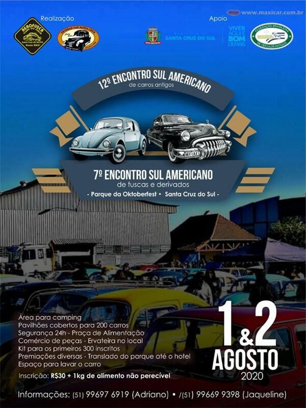 12° Encontro Sulamericano de Carros Antigos e Fuscas e Derivados