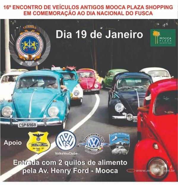 16º Encontro de Veículos Antigos Mooca Plaza Shopping