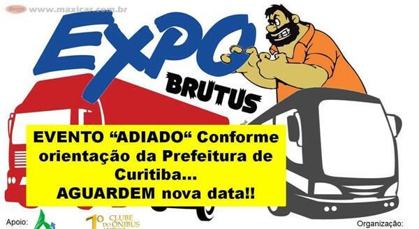 EXPOBrutus - Exposição Caminhões, Ônibus e Pickups em Curitiba