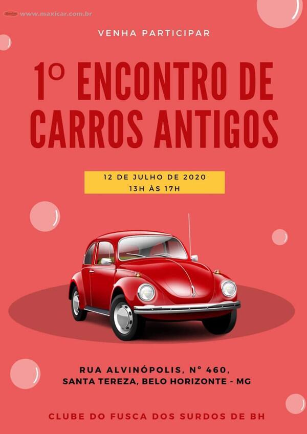 1º Encontro de Carros Antigos - Belo Horizonte, MG