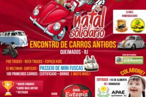 Natal Solidário - Encontro De Carros Antigos em Queimados