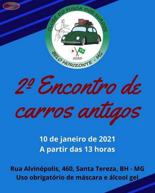 2º Encontro de Carros Antigos do Clube do Fusca dos Surdos