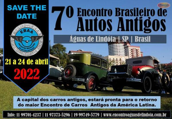 7º Encontro Brasileiro de Autos Antigos – Águas de Lindóia
