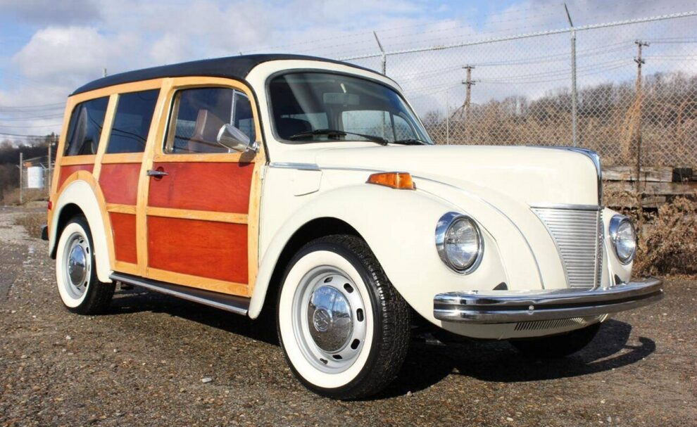 Fusca Ford Woody 1940