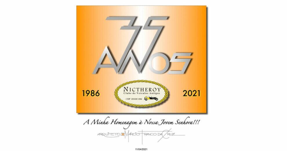 Nictheroy Clube de Veículos Antigos celebra seus 35 anos de fundação!