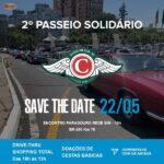 2º Passeio Solidário Classic Car Club RS