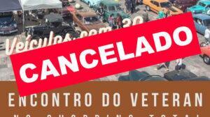 Encontro Veteran Car Clube Porto Alegre no Shopping Total CANCELADO