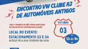 Encontro VW Clube RJ de Automóveis Antigos