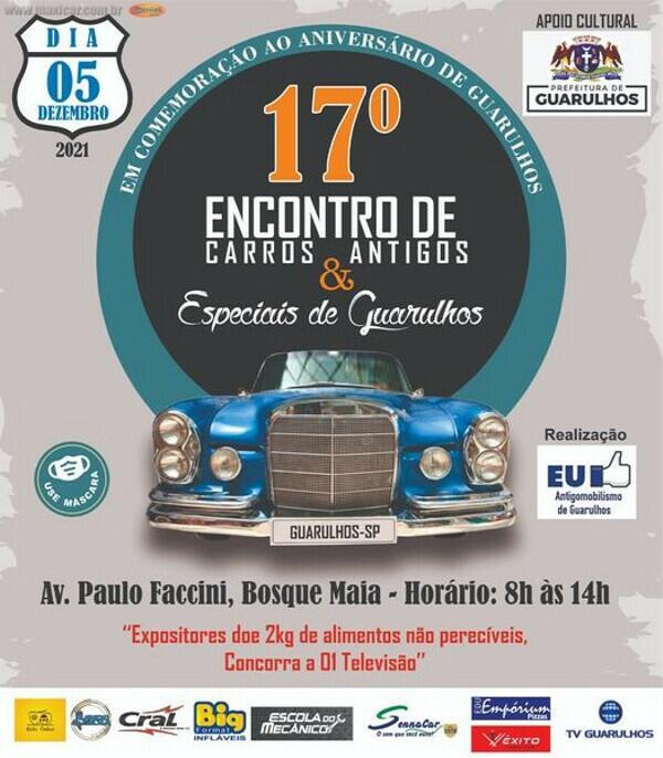 17º Encontro de Carros Antigos e Espciais de Guarulhos